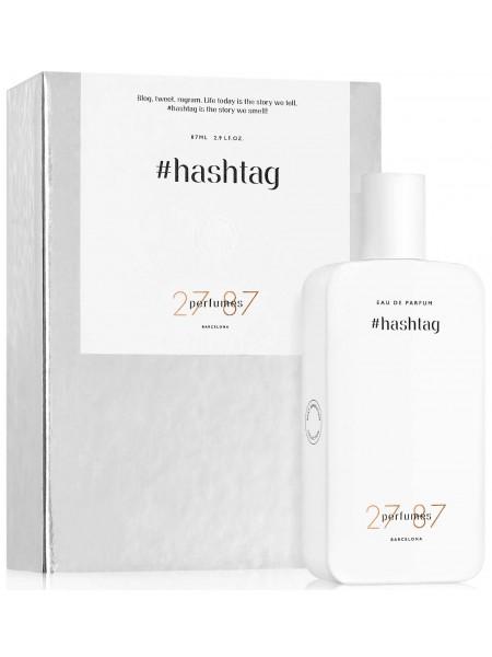 27 87 Perfumes #Hashtag парфюмированная вода 27 мл