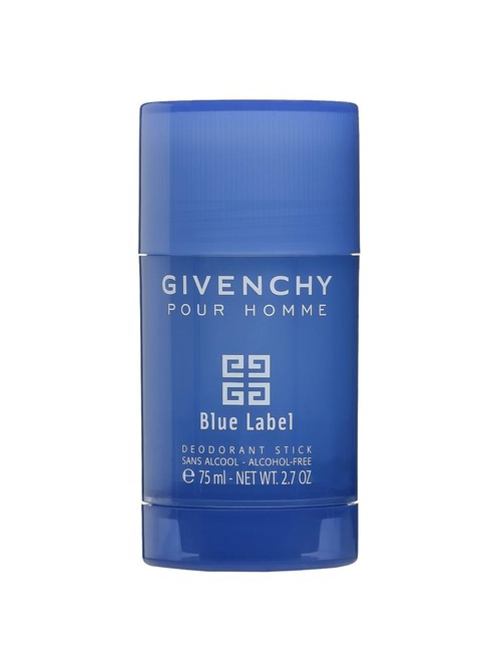 купить Givenchy Blue Label Pour Homme стиковый дезодорант 75 мл в
