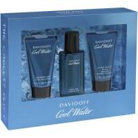 Davidoff Cool Water Men Подарочный набор (туалетная вода 40 мл + лосьон после бритья 50 мл + гель для душа 50 мл)