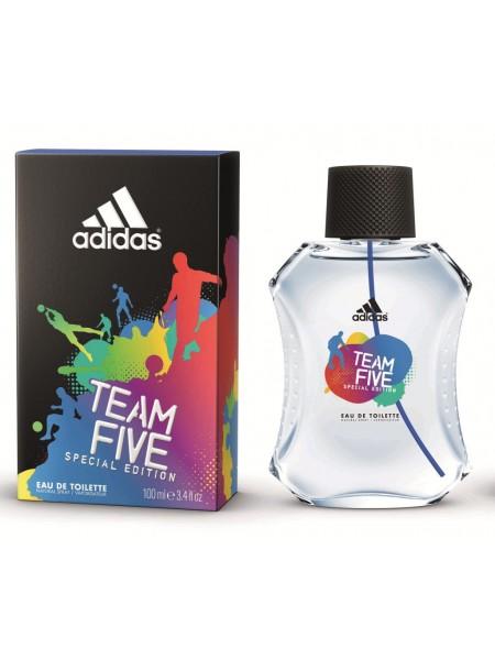 Adidas Team Five туалетная вода 100 мл