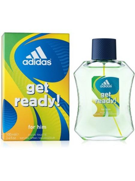 Adidas Get Ready For Him туалетная вода 100 мл