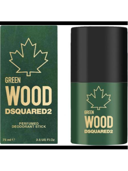 Dsquared2 Green Wood Pour Homme стиковый дезодорант 75 мл