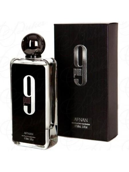 Afnan 9 PM Black парфюмированная вода 100 мл
