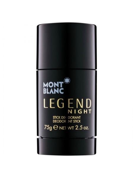 Montblanc Legend Night стиковый дезодорант 75 мл