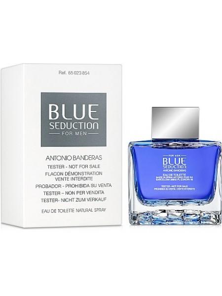 Antonio Banderas Blue Seduction for Men тестер с крышечкой (туалетная вода) 100 мл