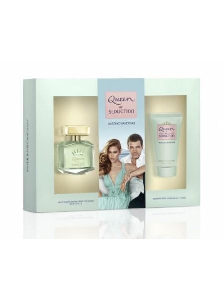 Antonio Banderas Queen of Seduction Подарочный набор (туалетная вода 50 мл + лосьон для тела 50 мл)