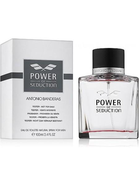 Antonio Banderas Power of Seduction тестер (туалетная вода) 100 мл