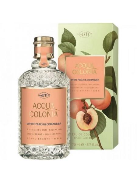 Maurer & Wirtz 4711 Acqua Colonia White Peach & Coriander одеколон 170 мл