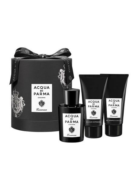 Acqua di Parma Essenza di Colonia Подарочный набор (одеколон 100 мл + гель для душа 75 мл + бальзам после бритья 75 мл)
