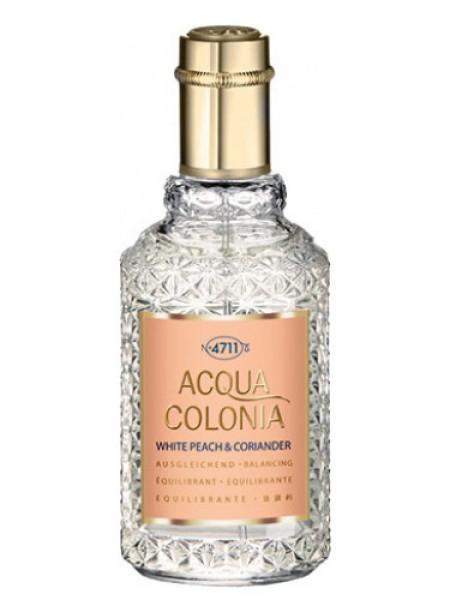 Maurer & Wirtz 4711 Acqua Colonia White Peach & Coriander одеколон 50 мл