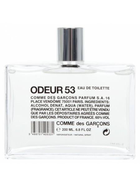 Comme Des Garcons Odeur 53 тестер (туалетная вода) 200 мл