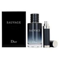 Dior Sauvage 2015 Подарочный набор (туалетная вода 100 мл + миниатюра 10 мл)