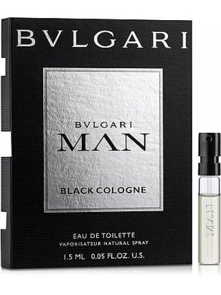 Bvlgari Man Black Cologne пробник 1.5 мл