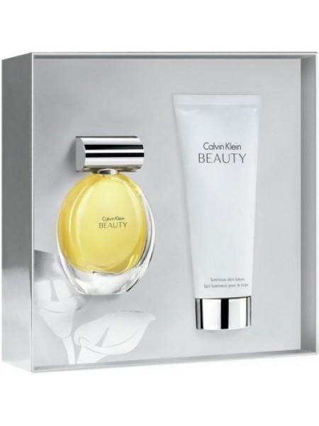 Calvin Klein Beauty Подарочный набор (парфюмированная вода 100 мл + лосьон для тела 100 мл)