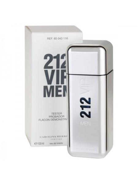 Carolina Herrera 212 VIP Men тестер с крышечкой (туалетная вода) 100 мл