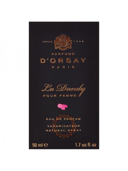 D'Orsay La Dandy Pour Femme парфюмированная вода 50 мл