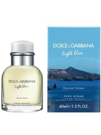 D&G Light Blue Discover Vulcano Pour Homme туалетная вода 40 мл