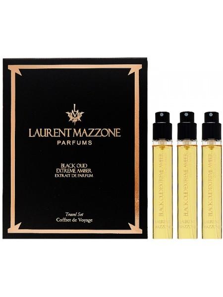 LM Parfums Black Oud Extreme Amber Travel Set (миниатюра 3*15 мл)