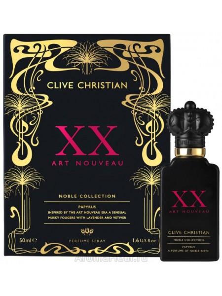 Clive Christian Noble XX Art Nouveau Papyrus For Men парфюмированная вода 50 мл
