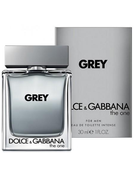 D&G The One for Men Grey туалетная вода 30 мл