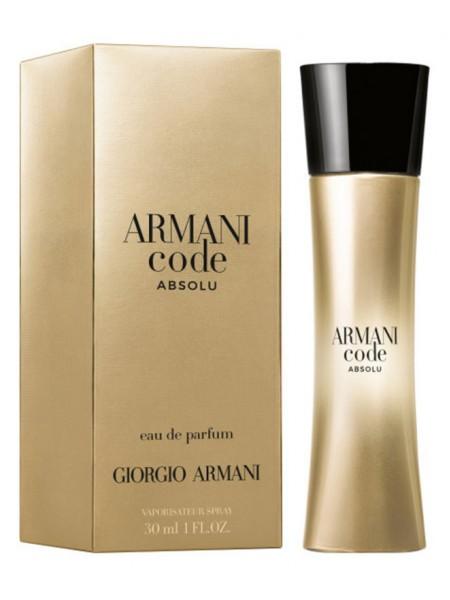 Armani Code Absolu парфюмированная вода 30 мл
