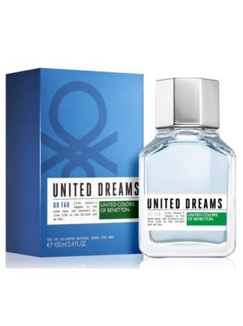 Benetton United Dreams Go Far туалетная вода 100 мл