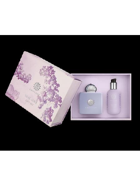 Amouage Lilac Love Подарочный набор (парфюмированная вода 100 мл + лосьон для тела 300 мл)