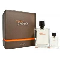 Terre d'Hermes Parfum Подарочный набор (парфюмированная вода 75 мл + миниатюра 12.5 мл)