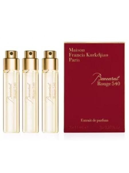 Maison Francis Kurkdjian Baccarat Rouge 540 Extrait de Parfum парфюмированная вода 3*11 мл