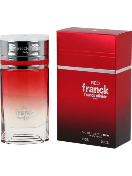 Franck Olivier Franck Red туалетная вода 75 мл