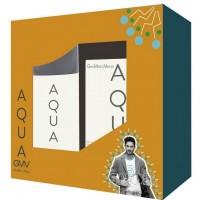 Gian Marco Venturi Aqua Подарочный набор (туалетная вода 100 мл + дезодорант спрей 150 мл)
