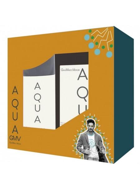 Gian Marco Venturi Aqua Подарочный набор (туалетная вода 30 мл + дезодорант спрей 150 мл)