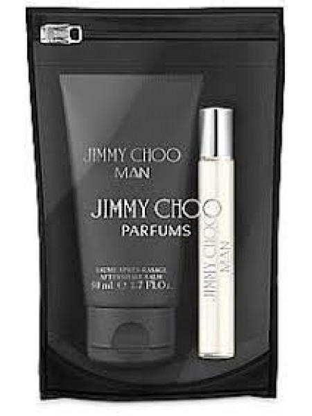 Jimmy Choo Man Подарочный набор (миниатюра 7.5 мл + бальзам после бритья 50 мл)