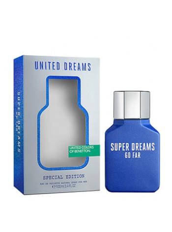 Benetton United Dreams Super Dreams Go Far туалетная вода 100 мл