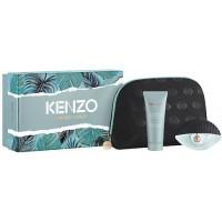 Kenzo World Подарочный набор (парфюмированная вода 50 мл + лосьон для тела 75 мл + косметичка)