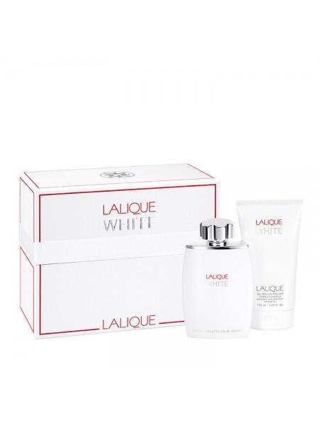 Lalique White Подарочный набор (туалетная вода 75 мл + гель для душа 150 мл)