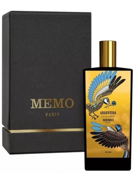 Memo Argentina парфюмированная вода 75 мл