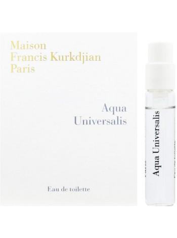 Maison Francis Kurkdjian Aqua Universalis пробник 2 мл
