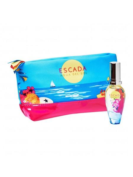 Escada Agua del Sol Подарочный набор (туалетная вода 30 мл + косметичка)