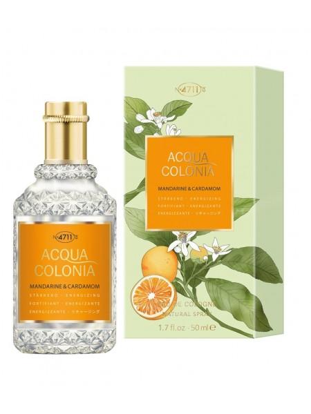 Maurer & Wirtz 4711 Acqua Colonia Mandarine & Cardamom одеколон 50 мл