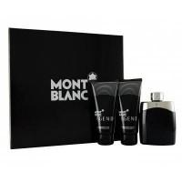 Montblanc Legend Подарочный набор (туалетная вода 100 мл + бальзам после бритья 100 мл + гель для душа 100 мл)