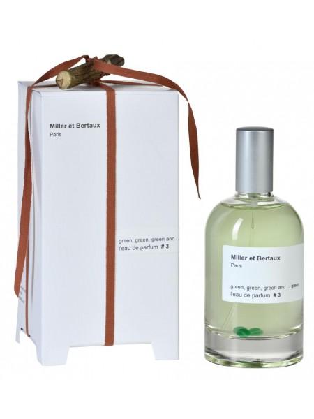 Miller Et Bertaux Green парфюмированная вода 100 мл