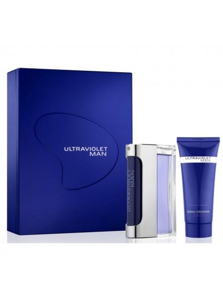 Paco Rabanne Ultraviolet Man Подарочный набор (туалетная вода 50 мл + гель для душа 50 мл)