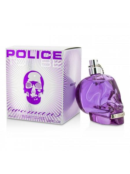 Police To Be Woman парфюмированная вода 75 мл