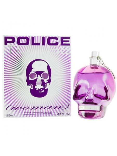 Police To Be Woman парфюмированная вода 125 мл