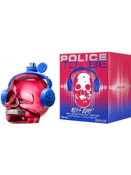 Police To Be Miss Beat парфюмированная вода 75 мл