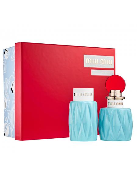 Miu Miu Подарочный набор (парфюмированная вода 50 мл + лосьон для тела 100 мл)