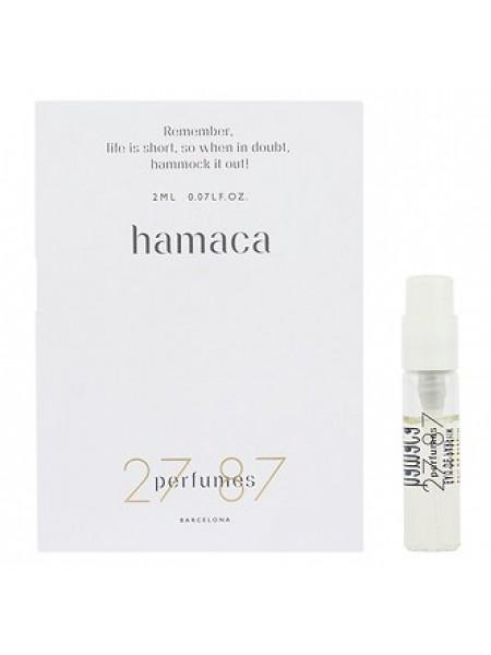 27 87 Perfumes Hamaca пробник 2 мл