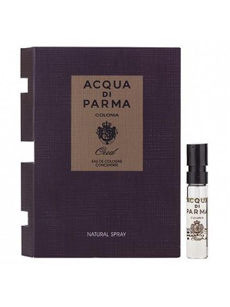 Acqua di Parma Colonia Intensa Oud Eau de Cologne Concentree пробник 1.5 мл