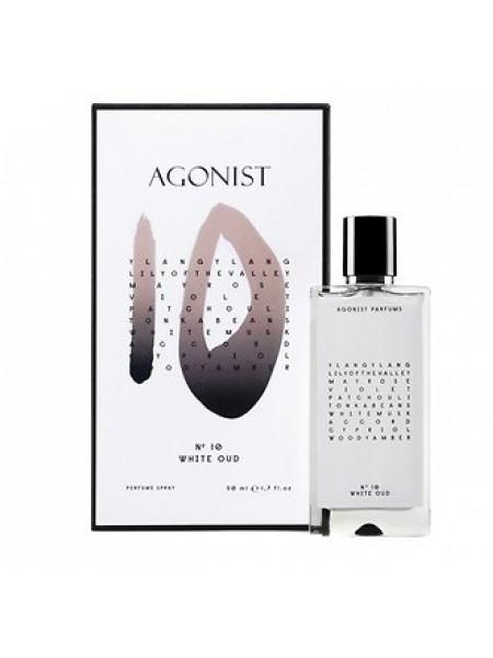Agonist No 10 White Oud парфюмированная вода 50 мл